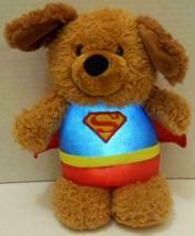 "GUND DC COMICS LIGHT UP SUPERMAN GRIFFIN PUPPY DOG 9"" PLUSH STUFFED DOLL... - $16.99"