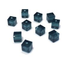 4pcs - 4mm Swarovski Crystal Cube Beads #5601 - You Choose The Color image 6