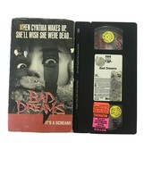 Bad dreams 1988 Horror VHS Rated R - $18.69