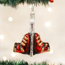 OLD WORLD CHRISTMAS SKI BOOTS GLASS CHRISTMAS ORNAMENT 44068 - $13.88