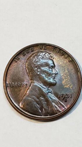 1931S Lincoln Wheat Cent Nice Looking Key Date Coin Lot V 102