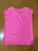 Girls Kids The Children's Place Pink Short Sleeve Shirts Size Large 10-12 - $4.94