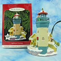 Hallmark Lighthouse Greetings Xmas Ornament 3rd in Magic Collectors Seri... - $9.90