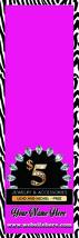 Custom  Table runner Zebra Pattern  2'x6' Predesigned For Paparazzi Consultants image 2