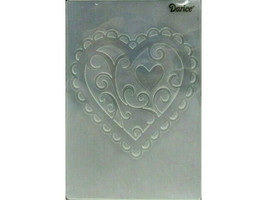 Darice Valentine Hearts Embossing Folder
