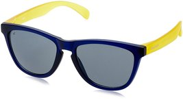 Fastrack Wayfarer Unisex Sunglasses (PC003BK6|Grey)  - $52.99
