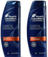 2 Ct Head & Shoulders Clinical Strength Severe Dandruff Shampoo 13.5 Fl ... - $29.99
