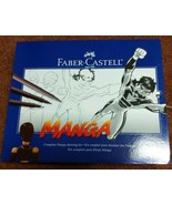 Manga Complete Drawing Kit by Faber-Castell, Top Quality Materials & Ins... - $19.80