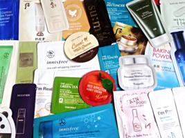 50-Piece Skincare Samples Bag - $100.00