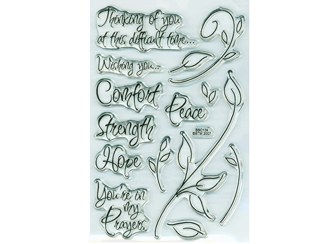 Stampendous Encouraging Words Stamp Set #SSC134