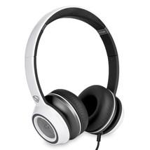 Monster N-Tune High Performance On-Ear Headphones w/3.5mm Plug(Frost White) - $42.86