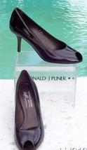 New Flex Shoe Donald Walnut Couture Sole Signature Pliner Patent Toe Peep 250 XRXq6
