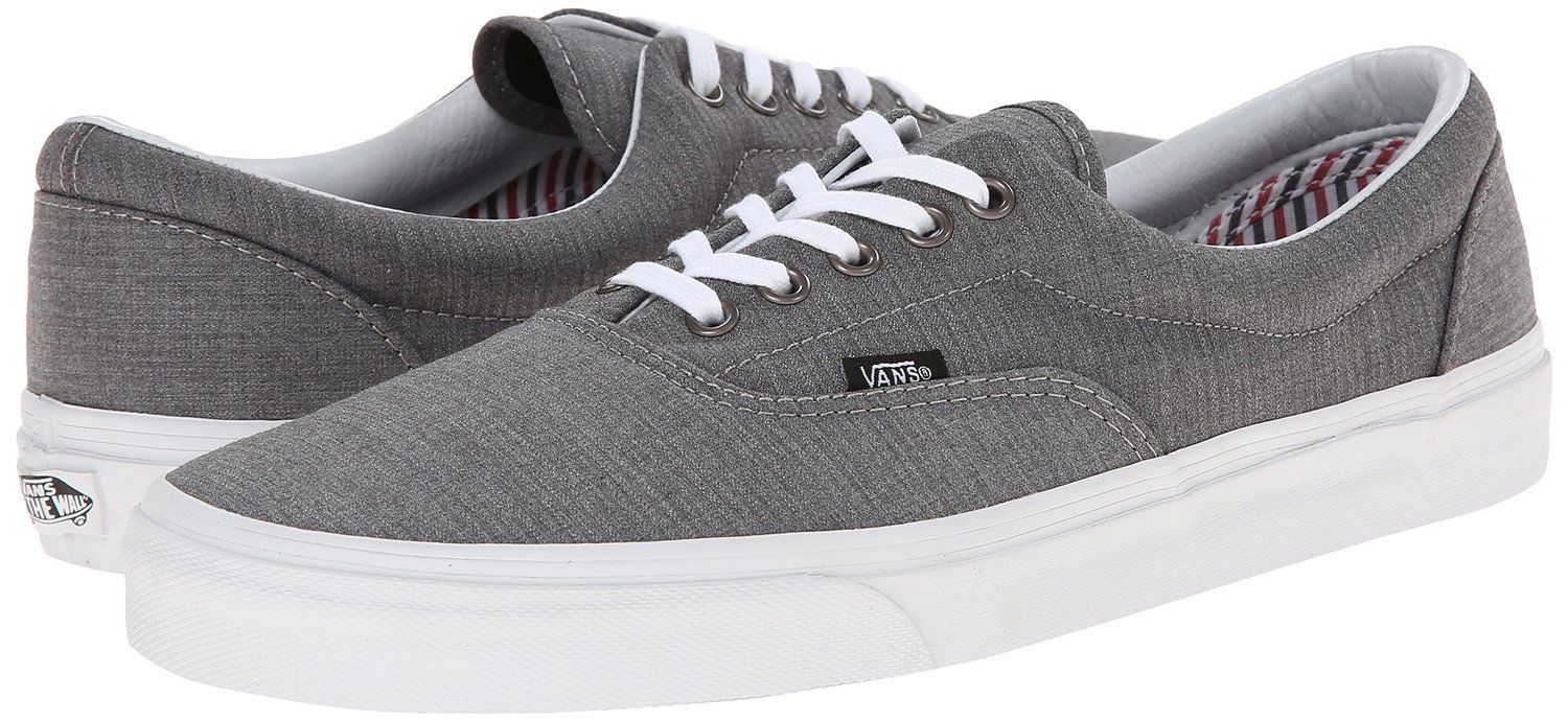 99b90c151b Vans Era Suiting Stripes Charcoal True White and 50 similar items