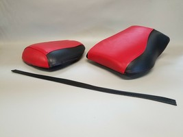 Suzuki SV Seat Cover Set SV1000S 2003-2010 in 2-tone Red & Black     (ps) - $39.95