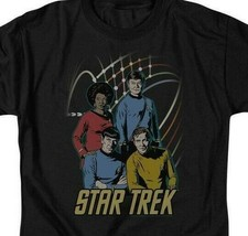 Star Trek Animated T-shirt Retro Original Crew cast Sci-Fi graphic tee CBS398 image 2