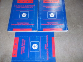 1993 DODGE RAM VAN WAGON Service Repair Manual SET OEM W DIAGNOSTICS BOOKS - $69.25