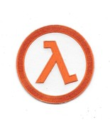 Half-Life Science Fiction Game Series Logo Image Embroidered Patch NEW U... - $7.84