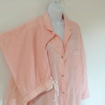 Victoria's Secret 2 Piece Summer Pajamas Peach Size Extra Large XL - $34.60