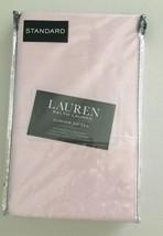 $45 Ralph Lauren DUNHAM SATEEN Standard Cotton Pillowcase Set Ballet Pink - $22.44