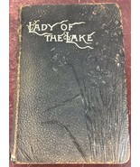 Vintage / Antique Lady Of The Lake by Sir Walter Scott With Leather Cover - $257.13