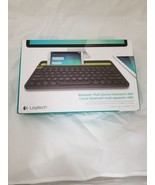 Logitech Bluetooth Multi-Device Keyboard - Black  - $48.51