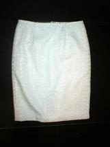 NWT $398 Worth New York White 6 Womens Skirt Geometric Lace Slim Pencil ... - $240.00