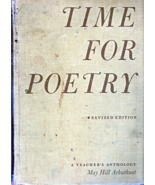 Time For Poetry - Compiled by May Hill Arburhnot (1959) - $4.95