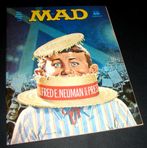 MAD Magazine 153 Sept 1972 ALFRED E NEUMAN FOR PRESIDENT Norman Mingo Co... - $14.24