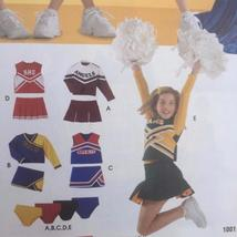 Simplicity Sewing Pattern 4040 Girls Child Cheerleader Costumes Size 8-12 New image 3