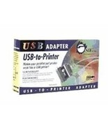 SIIG USB to IEEE 1284 Par Port USB to Printer USBA/Cent36 - $19.26