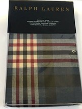 NEW Ralph Lauren Saranac Peak Brentwood European Euro Pillow Sham Blue R... - $39.99