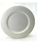 "Pier 1 Ashlee Earthenware Salad Pate 8 5/8""  White Made in Turkey - $9.89"