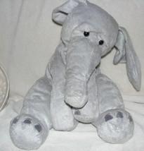 "NEW Manhattan Toy Ragtails Wanda Elephant soft plush floppy 14"" 12"" Gray... - $63.35"