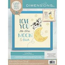 Dimensions Needlecrafts 70-35346 Dimensions to The Moon, Counted Cross S... - $24.01