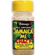 Johnny's Jamaica Me Crazy Lemon Pepper, 3.25 Ounce - $8.40