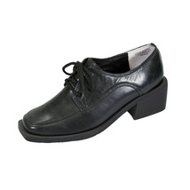 PEERAGE Moya Women's Wide Width Leather Lace Up Oxford Shoes - $39.95