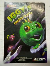Iggy's Reckin' Balls Nintendo 64 Manual Booklet N64 Instructions Only - $9.85