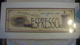 Double Shot! Soho Coffee Bar Blend Espresso Matted Print - $22.28