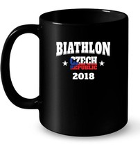 Czech Republic Biathlon Winter Ceramic Mug - $13.99+