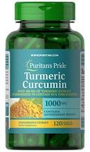Turmeric Curcumin by Puritan's Pride, 1000mg, 120 Rapid Release Capsules - $16.82