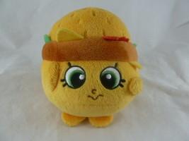 "Shopkins Cheezey 8 Plush 5"" Tall Just Play Cheeseburger Stuffed Animal B... - $5.93"
