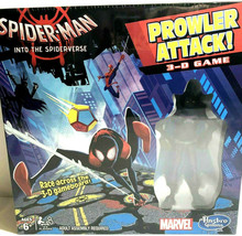Marvel Spider Man Into Spider Verse Prowler Attack 3 D Race Game & Figure Sealed - $18.07