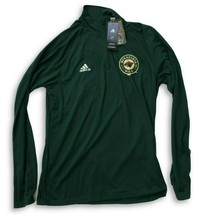 NWT New Minnesota Wild adidas 1/4 Zip Defenseman Size Small Pullover Jacket - $41.05