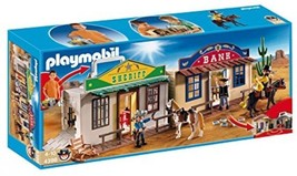 Playmobil 4398 PLAYMOBIL My Take Along Western City New Sealed HTF - $196.35