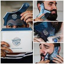 Monster&Son Beard Shaping Tool - New Innovative Design for 2019 image 3