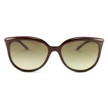 New Tiffany & Co. Sunglasses TF 4093-H-8185-3M Wine Pearls Acetate 57 17... - $166.25