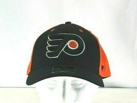 Philadelphia Flyers Black/Orange Baseball Cap Stretch Fit L/XL - $31.99