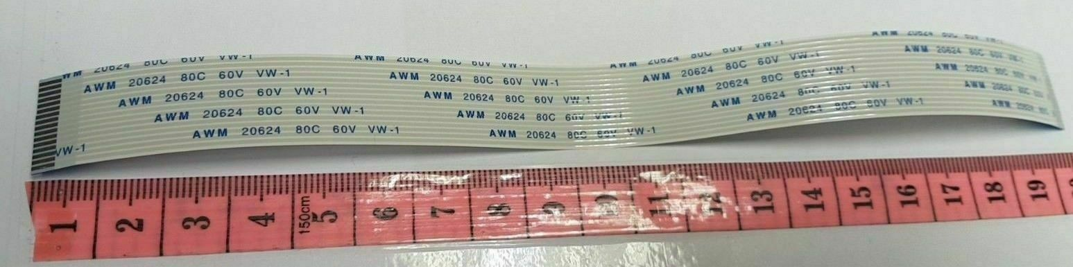 Primary image for E188165 AWM 20798 20624 16 Pin 8cm 15cm & 20cm Long 1.7cm Wide Flex Ribbon Cable