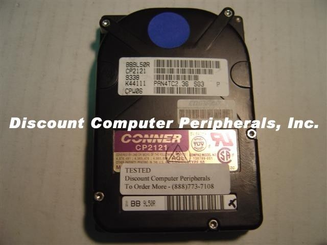 Lot of 10 Conner CP2121 120 MB 2.5IN IDE Drive Tested Good Free USA Shipping