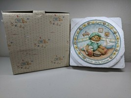 Enesco Cherished Teddies Nursery Rhyme Plate Little Jack Horner 151998 1... - $8.72